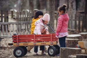 Child directed play is fundamental to the Acorn Hill curriculum